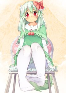 Rating: Safe Score: 47 Tags: ex_keine feet horns kamishirasawa_keine kokka_han pantyhose tail touhou User: Mr_GT