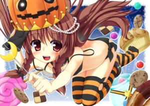 Rating: Questionable Score: 31 Tags: bra halloween pantsu shirasu_youichi thighhighs User: 椎名深夏