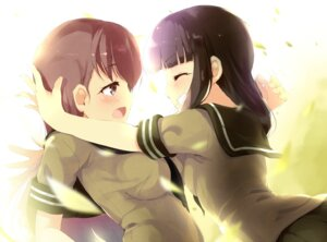 Rating: Safe Score: 27 Tags: kantai_collection kitakami_(kancolle) komone_ushio ooi_(kancolle) yuri User: fairyren