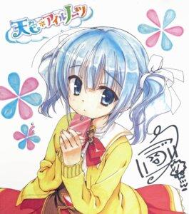Rating: Safe Score: 54 Tags: amairo_islenauts autographed kobuichi shiraga_airi yuzu-soft User: batinthebelfry