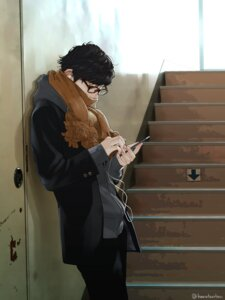 Rating: Safe Score: 22 Tags: harutantan male megane User: charunetra