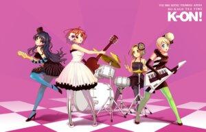 Rating: Safe Score: 12 Tags: akiyama_mio guitar hirasawa_yui k-on! kotobuki_tsumugi pantyhose shooai tainaka_ritsu User: Radioactive
