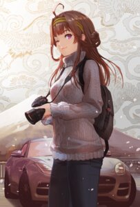 Rating: Safe Score: 53 Tags: kantai_collection kongou_(kancolle) sweater tan_taka User: Mr_GT