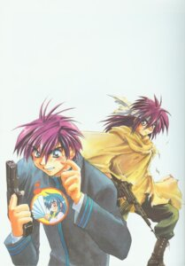 Rating: Safe Score: 2 Tags: full_metal_panic gun male sagara_sousuke shikidouji User: Feito