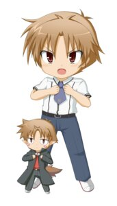 Rating: Safe Score: 6 Tags: baka_to_test_to_shoukanjuu chibi kuena male yoshii_akihisa User: SubaruSumeragi