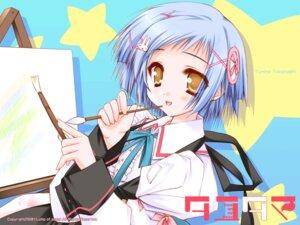 Rating: Safe Score: 14 Tags: moekibara_fumitake takanashi_yumina tayutama wallpaper User: nanami