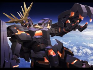 Rating: Safe Score: 4 Tags: banshee gundam gundam_unicorn mecha wallpaper User: HMX-999