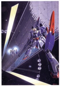 Rating: Safe Score: 5 Tags: gundam mecha okawara_kunio scanning_dust zeta_gundam User: Radioactive