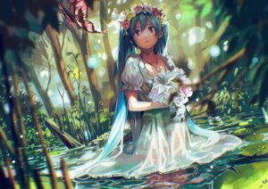 Rating: Safe Score: 78 Tags: dress hatsune_miku tsukun112 vocaloid wet wet_clothes User: Arkon