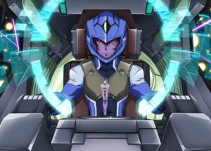 Rating: Safe Score: 8 Tags: gundam gundam_00 gundam_00:_a_wakening_of_the_trailblazer setsuna_f_seiei tieria_erde User: solidvanz