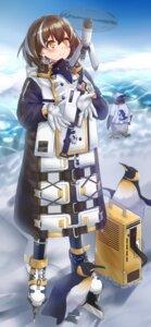 Rating: Safe Score: 10 Tags: arknights ice_skating magallan_(arknights) penguin pnt_(ddnu4555) User: Mr_GT