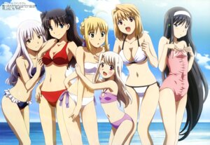 Rating: Safe Score: 111 Tags: amisaki_ryouko arcueid_brunestud bikini carnival_phantasm cleavage crossover fate/hollow_ataraxia fate/stay_night illyasviel_von_einzbern karen_ortensia saber swimsuits toono_akiha toosaka_rin tsukihime User: Jigsy