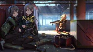 Rating: Safe Score: 70 Tags: girls_frontline gun pantyhose tokinohimitsu ump40_(girls_frontline) ump45_(girls_frontline) ump9_(girls_frontline) User: Mr_GT