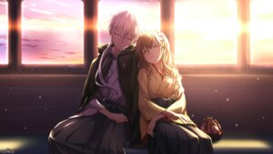 Rating: Safe Score: 33 Tags: kimono psychic_hearts tokumaru wallpaper User: Mr_GT