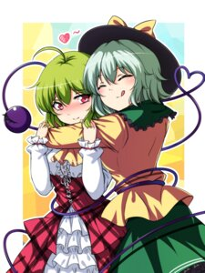 Rating: Safe Score: 21 Tags: dress kazami_yuuka koissa komeiji_koishi touhou User: Mr_GT