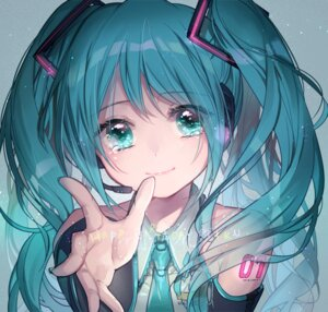 Rating: Safe Score: 67 Tags: hatsune_miku headphones tattoo vocaloid yukinokoe User: charunetra