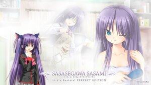 Rating: Safe Score: 14 Tags: key little_busters! na-ga sasasegawa_sasami seifuku towel wallpaper User: girlcelly