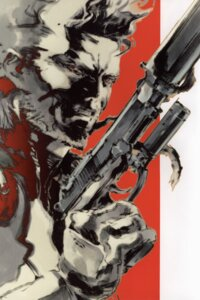 Rating: Safe Score: 11 Tags: gun male metal_gear metal_gear_solid metal_gear_solid_2 shinkawa_yoji solid_snake User: jr0904