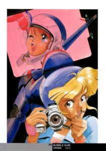 Rating: Safe Score: 2 Tags: bubblegum_crisis nene_romanova sonoda_kenichi User: Radioactive