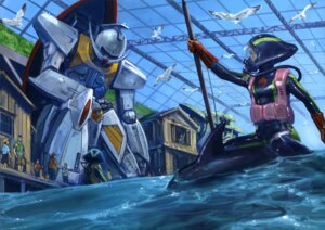 Rating: Safe Score: 9 Tags: gundam mecha system_turn_a-99_turn_a_gundam turn_a_gundam User: vkun