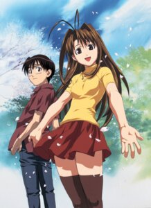 Rating: Safe Score: 14 Tags: love_hina narusegawa_naru urashima_keitarou User: ttfn