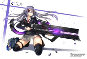 Rating: Safe Score: 34 Tags: garter gia gun megane seifuku thighhighs User: 23yAyuMe