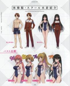 Rating: Safe Score: 34 Tags: character_design cleavage gym_uniform horikita_suzune karuizawa_kei kushida_kikyou megane sakura_airi school_swimsuit swimsuits youkoso_jitsuryoku_shijou_shugi_no_kyoushitsu_e User: xiaowufeixia