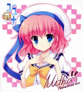 Rating: Safe Score: 19 Tags: autographed himezono_risa mitha nanawind yuyukana User: WtfCakes