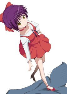 Rating: Safe Score: 26 Tags: dowarukofu dress gegege_no_kitaro heels neko_musume User: saemonnokami