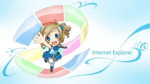 Rating: Safe Score: 18 Tags: aizawa_inori chibi internet_explorer microsoft thighhighs waha_(artist) wallpaper User: Netwizard2003