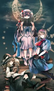 Rating: Safe Score: 17 Tags: alice_margatroid kirisame_marisa patchouli_knowledge rin_(harakiri) touhou witch User: hobbito