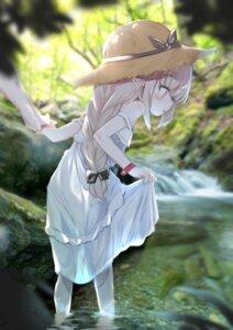 Rating: Safe Score: 23 Tags: dress kio_(yumekuikio) makaino_ririmu nijisanji pantsu photo pointy_ears see_through skirt_lift summer_dress wet User: Munchau