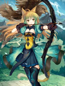 Rating: Safe Score: 77 Tags: abusoru animal_ears archer_of_red_(fate/apocrypha) armor cleavage fate/apocrypha fate/grand_order fate/stay_night tail thighhighs weapon User: Mr_GT