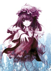 Rating: Safe Score: 9 Tags: dress eruza patchouli_knowledge touhou User: charunetra