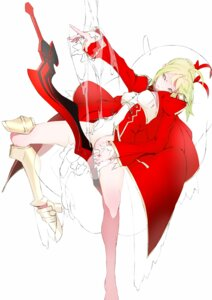 Rating: Questionable Score: 19 Tags: bthx fate/extra fate/stay_night pantyhose saber saber_extra User: Metalic