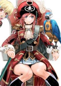 Rating: Safe Score: 28 Tags: katou_marika mecha mouretsu_pirates pirate yasuda_akira User: NotRadioactiveHonest
