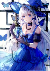 Rating: Safe Score: 45 Tags: cleavage dress iceblue witch User: Arsy
