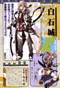 Rating: Questionable Score: 11 Tags: ass kuwashima_rein pantsu shirohime_quest thighhighs torn_clothes weapon User: drop