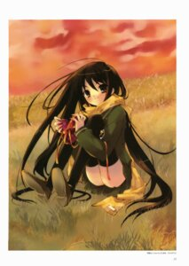 Rating: Safe Score: 14 Tags: ito_noizi seifuku shakugan_no_shana shana thighhighs User: Radioactive