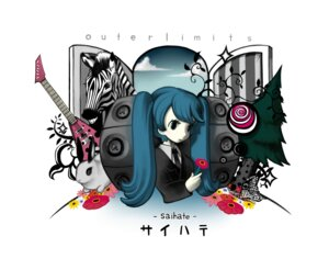 Rating: Safe Score: 5 Tags: guitar hatsune_miku saihate_(vocaloid) suzuki.g vocaloid User: yumichi-sama