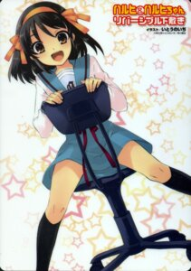 Rating: Safe Score: 12 Tags: ito_noizi screening seifuku suzumiya_haruhi suzumiya_haruhi_no_yuuutsu User: HMX999