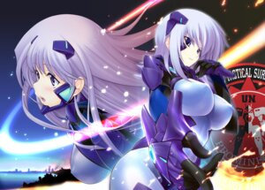 Rating: Questionable Score: 40 Tags: bodysuit cryska_barchenowa erect_nipples inia_sestina miyata_ao muvluv muvluv_alternative total_eclipse User: demonbane1349
