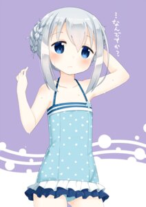 Rating: Safe Score: 42 Tags: gochuumon_wa_usagi_desu_ka? kafuu_chino muku-coffee swimsuits User: tbchyu001
