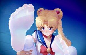 Rating: Safe Score: 25 Tags: cleavage feet ice_(ice_aptx) sailor_moon seifuku tsukino_usagi User: Mr_GT
