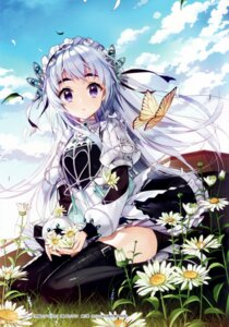 Rating: Safe Score: 111 Tags: aomono chaika_trabant heels hitsugi_no_chaika maid salty thighhighs User: yong