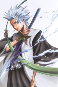 Rating: Safe Score: 8 Tags: bleach bleed_through hitsugaya_toushirou kubo_tite male screening sword User: charunetra