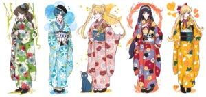 Rating: Safe Score: 13 Tags: aino_minako heels hino_rei kimono kino_makoto luna_(sailor_moon) mizuno_ami neko sailor_moon tagme tsukino_usagi User: Radioactive