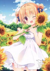 Rating: Safe Score: 45 Tags: canvas+garden dress hoshigaoka_ciel miyasaka_miyu summer_dress User: Radioactive