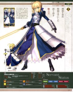 Rating: Safe Score: 32 Tags: armor dress fate/grand_order saber sword takeuchi_takashi type-moon User: drop