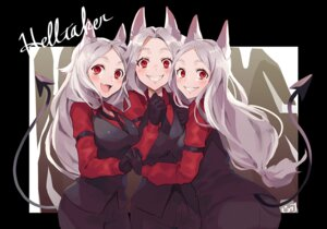 Rating: Safe Score: 29 Tags: animal_ears business_suit cerberus_(helltaker) helltaker tagme tail User: Mr_GT